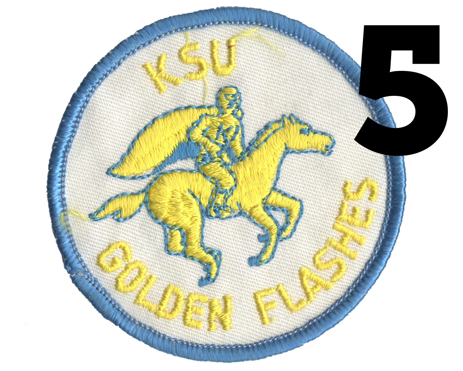 Patch featuring the western themed horse and rider