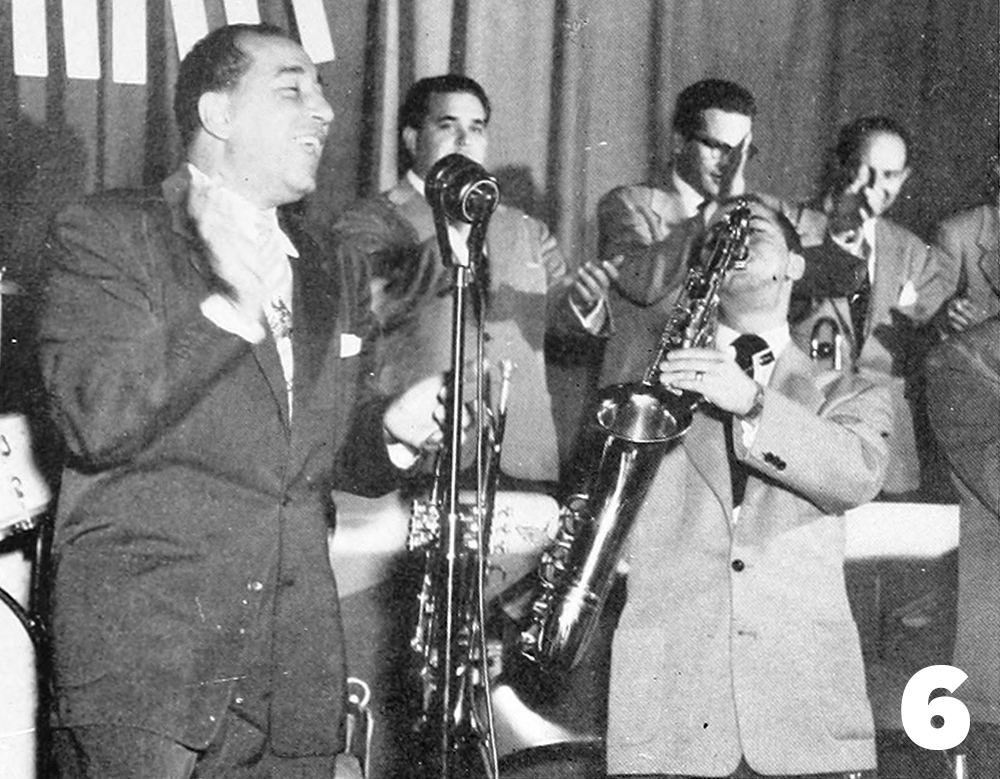 Louis Prima and his orchestra 1950