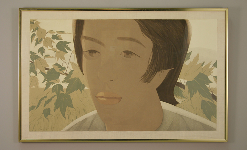 "Boy with Branch II Alex Katz Aquatint on paper, 24"" x 40.25"" 1976"