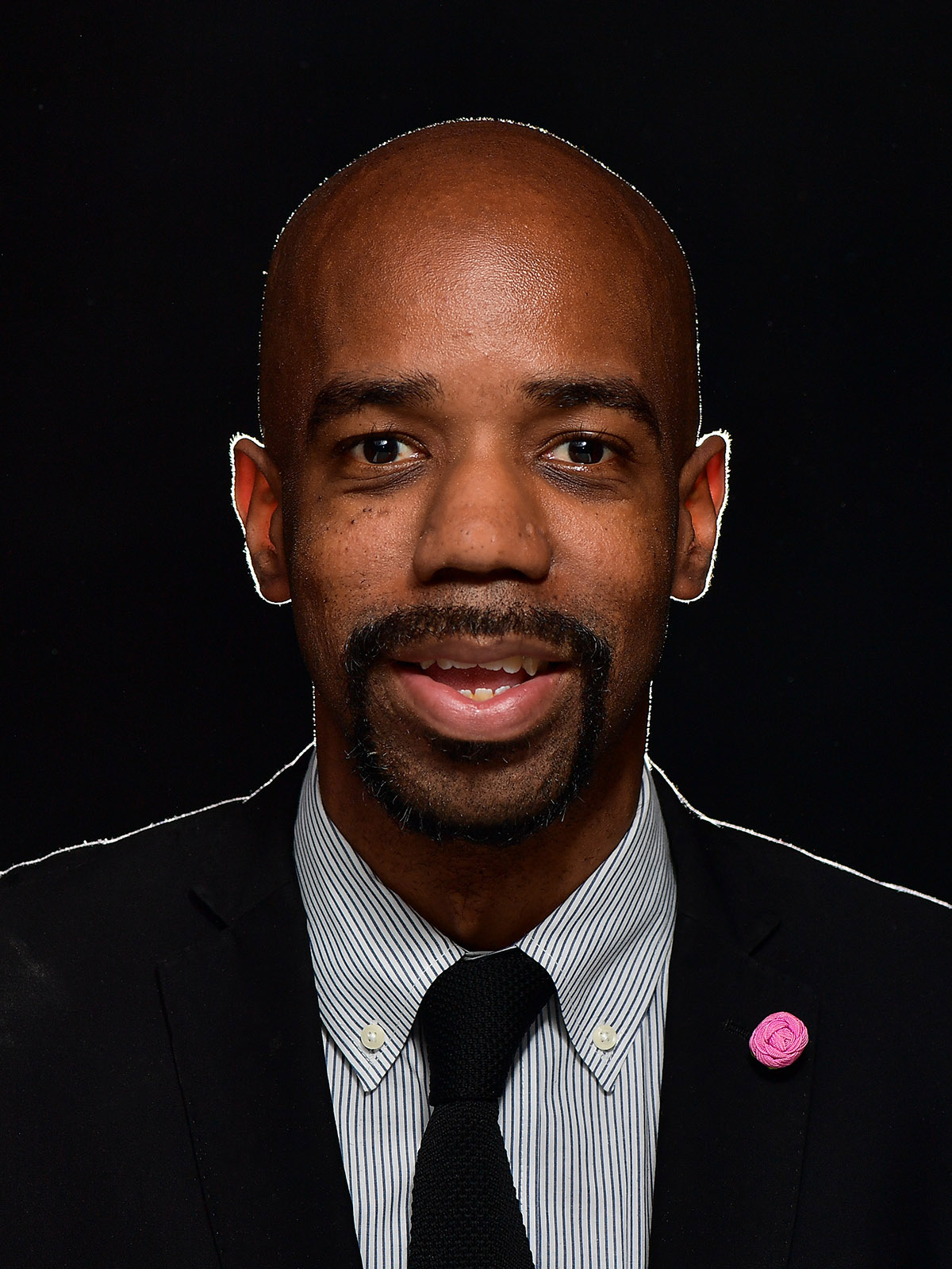 Lamar R. Hylton, Ph.D., is the first Black person to hold the title of vice president for student affairs at Kent State University.