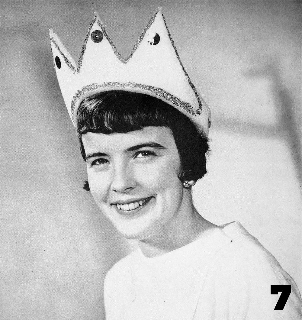 Pat Moran, Homecoming Queen 1956