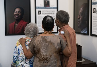 "Photo from ""They Led the Way"" exhibit - photo credit David LaBelle"