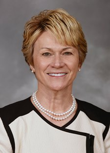 Photo of Kent State University President Beverly Warren