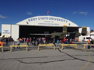 Photo from Kent State's Aviation Heritage Fair