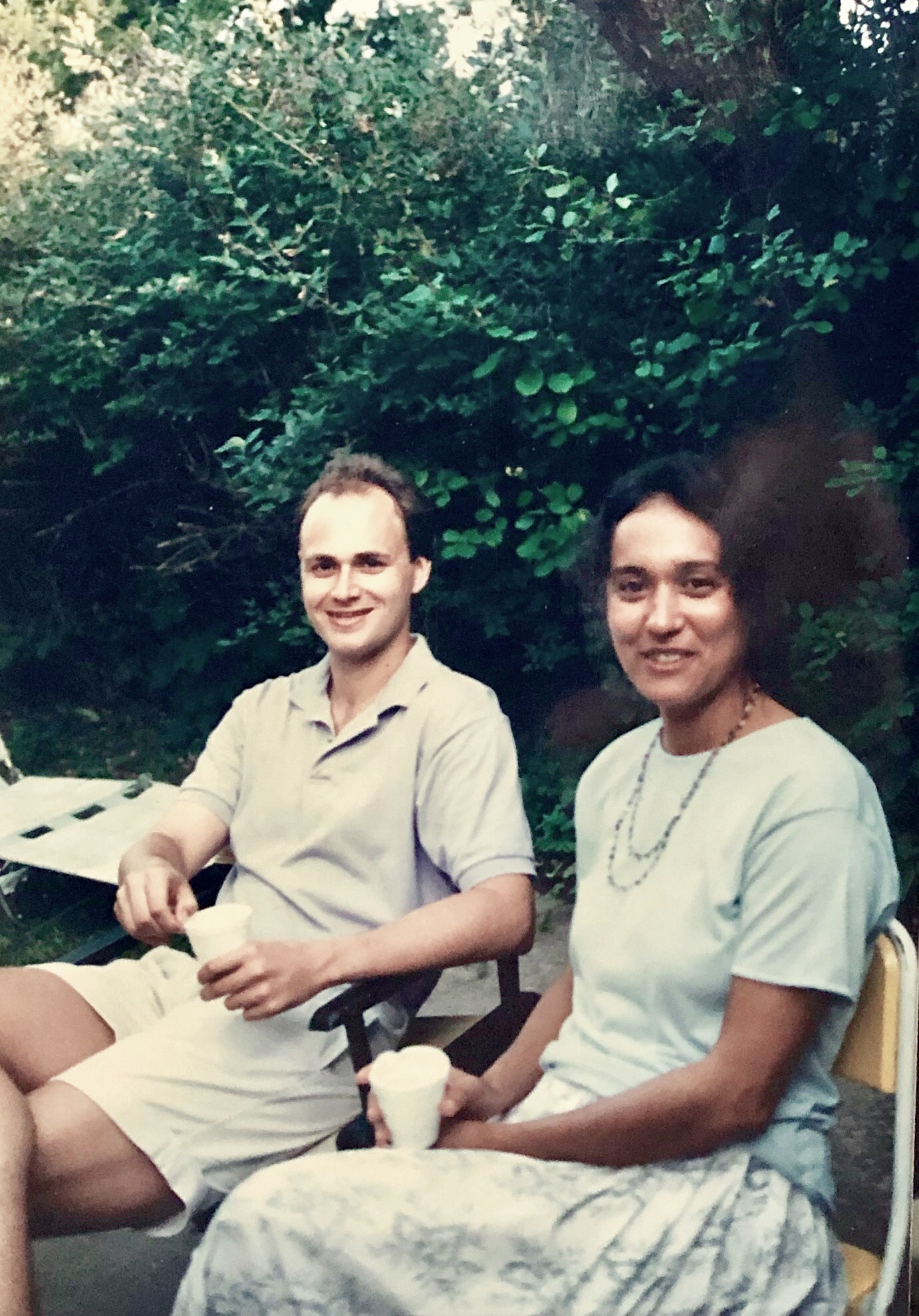 Photo of Todd Diacon and Moema Furtado, who met at the University of Wisconsin-Madison more than 30 years ago. (Photo provided by Moema Furtado)