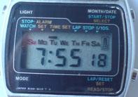 1970s LCD Watch