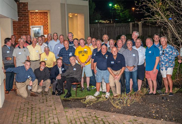 Kent State Men's Soccer reunion