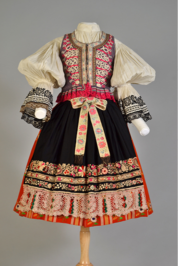 Ensemble from Southern Moravia in Slovakia