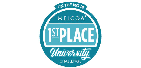 Kent State University has been recognized as the most active university in the country in the national On the Move University Challenge.