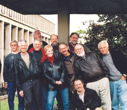 2003 reunion of the 1970 graduating class of architectural students