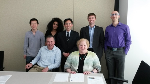 NASA Colleague visits Fuel Cell Lab
