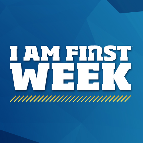I AM FIRST Week Logo