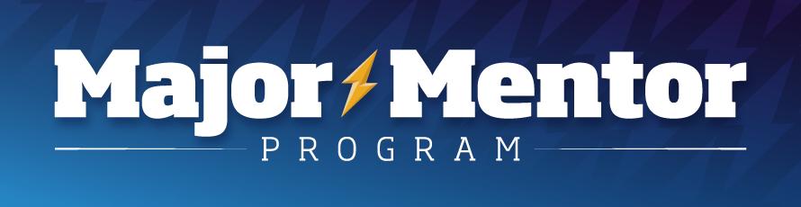 Major Mentor Program logo header