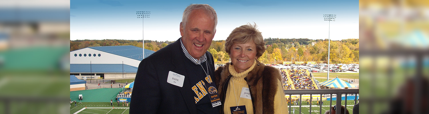 Photo of David and Janet Dix, '71, MEd, '76, PhD, '92