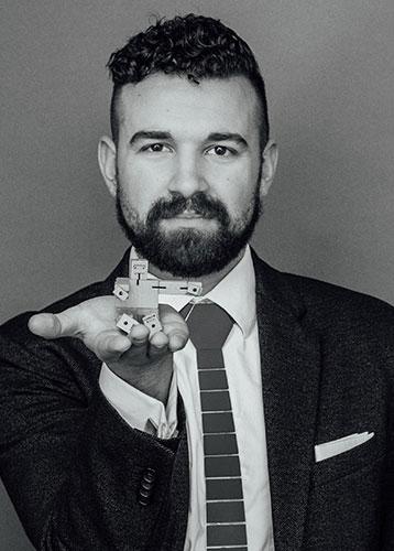 Justin Rudy Gleason, '16, MBA '18, M.Arch '18