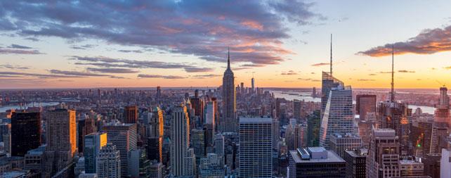 Photo of New York City skyline