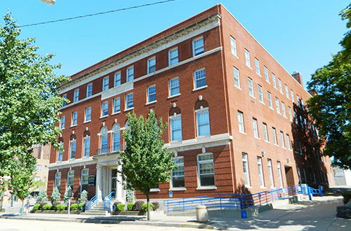 Image of the Mary Patterson Building