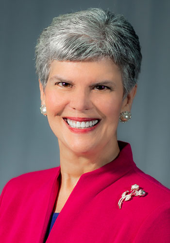 Headshot of Dean and Chief Administrative Officer of Kent State Stark, Denise A. Seachrist, Ph.D.