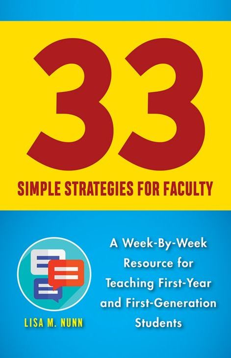 Thirty-Three Simple Strategies for Faculty