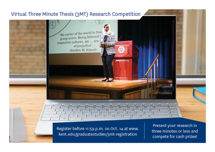 Contestant from 2019 Three Minute Thesis Competition