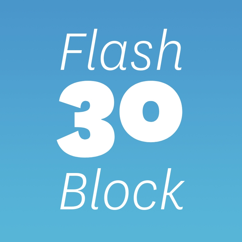 Flash 30 Block