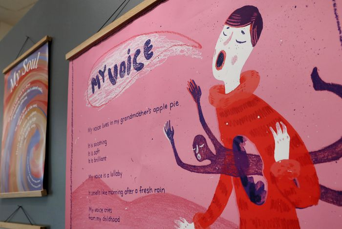 """""""My Voice"""" poster"""