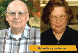 Phil and Mary Lou Herbert