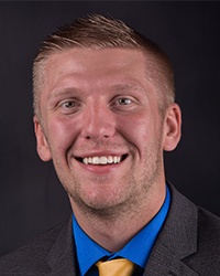 Headshot of Admissions Counselor AJ Armstrong