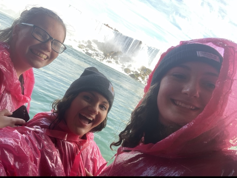 Kent's ALD officers visitingNiagra Falls during the national 2019-20 ALD conference.