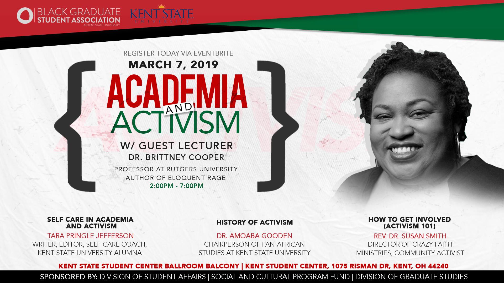 Flyer for BGSA 2019 Conference