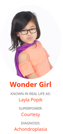 Kent State, a Hero Zone sponsor for this year's event, is honored and excited to sponsor Wonder Girl Layla Popik.