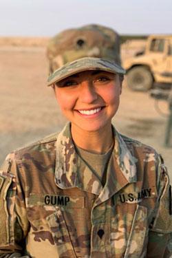 Andrea M. Gump, BS '18,