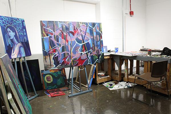 BFA painting studio 2018