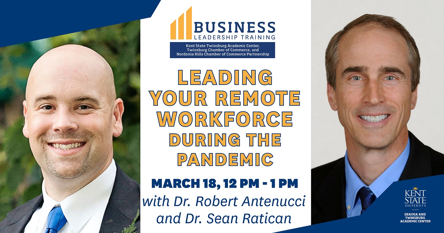 Business Leadership Training: Leading Your Remote Workforce During the Pandemic
