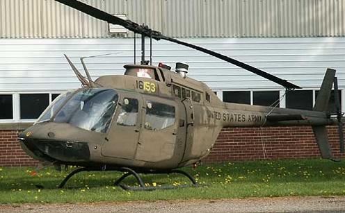 Bell OH-58 Kiowa, MAPS Air Museum