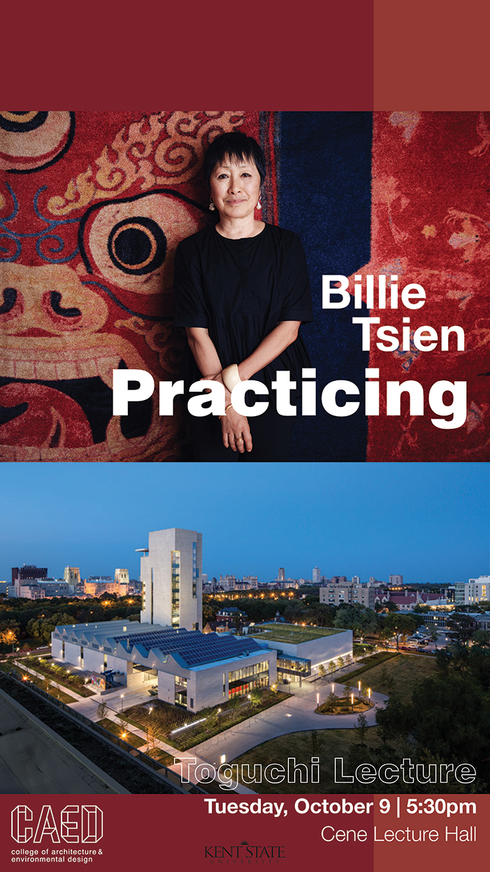Billie Tsien poster