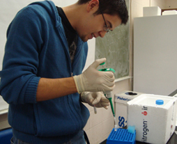 Biotechnology Student in the Laboratory