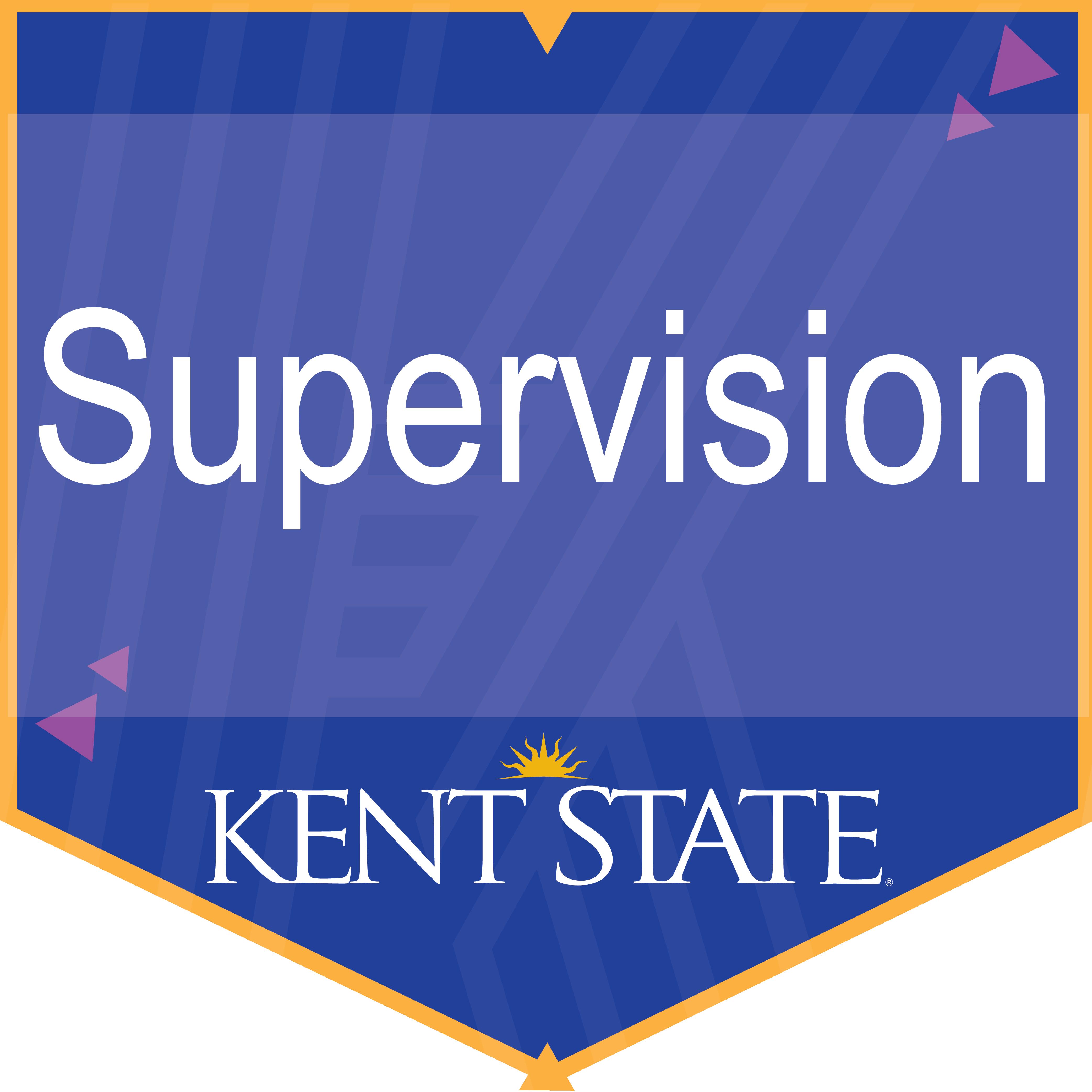 Certificate of Supervision Digital Badge