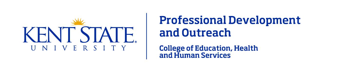 Professional Development and Outreach logo