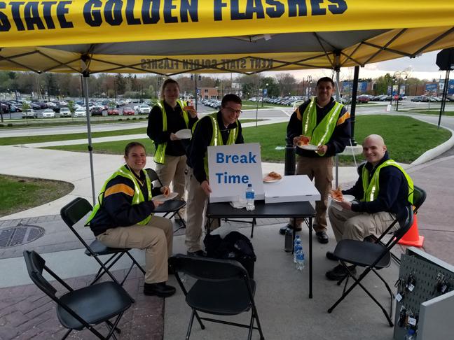 Cadets Break Time