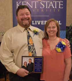 Jeff and Jodi Campbell recognized with the Lifetime Achievement Award