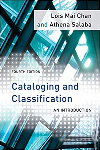 Cover of the book Cataloging and Classification, 4th ed.