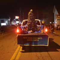 Kent State in the Salem parade