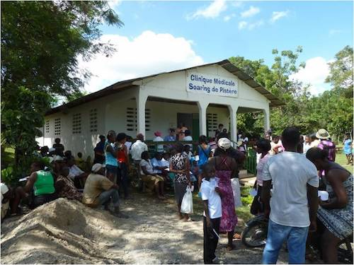 The Soaring Unlimited Haiti clinic in Pister