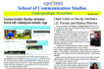 November 2013 Communication Studies Undergraduate Newsletter