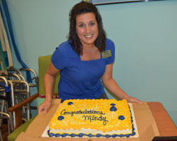 Mindy Madzia, Physical Therapist Assistant Technology Clinical Instructor of the Year
