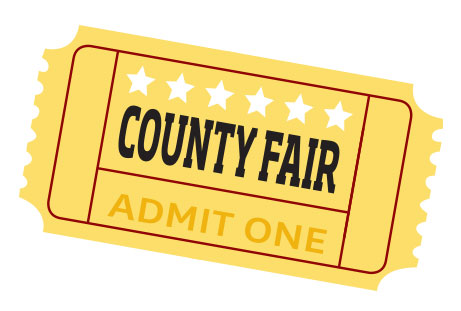 County Fair Ticket
