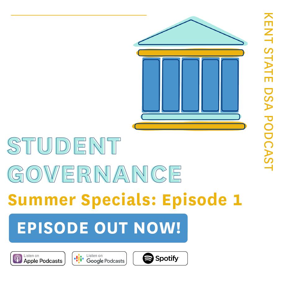 DSA Podcast: Student Governance Episode