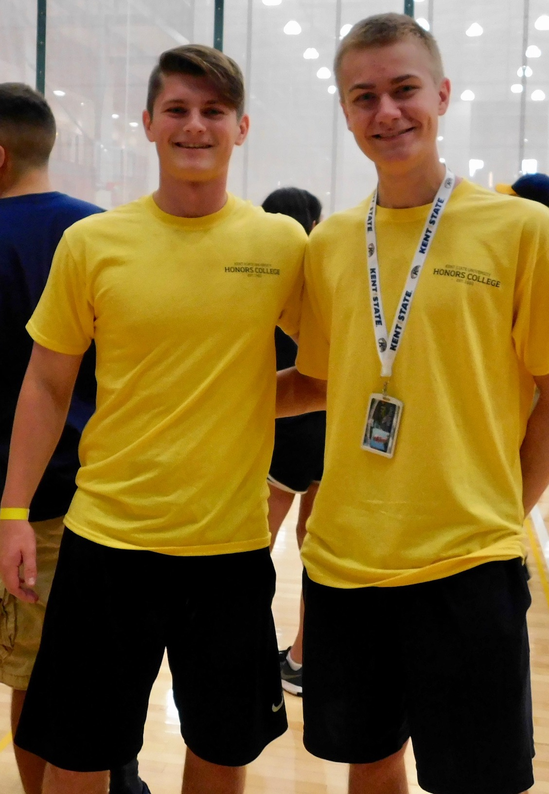 Two male students from Honors Leadership Academy