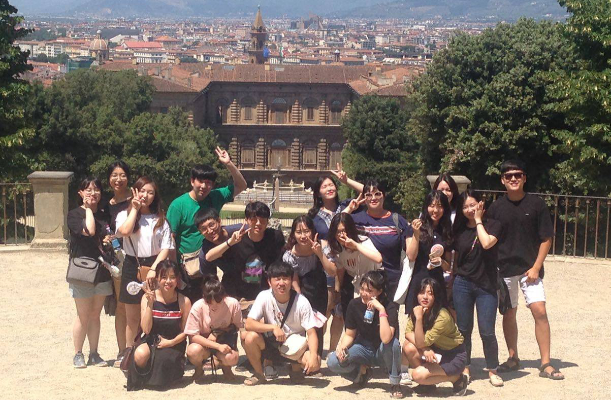 Dankook Students at Florence